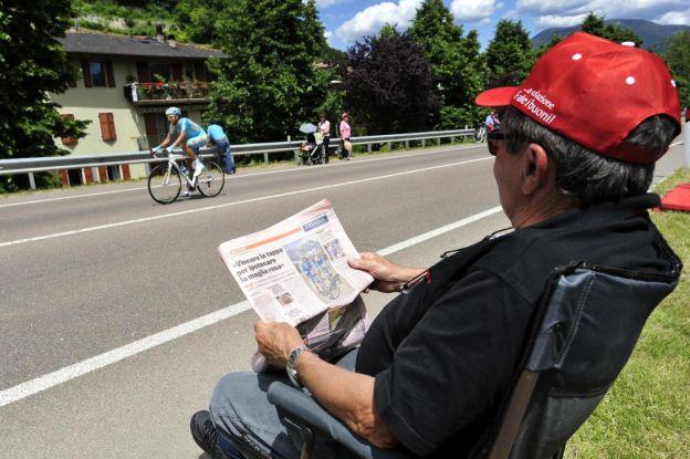 Giro d'Italia 2013 La Diciottesima Tappa
