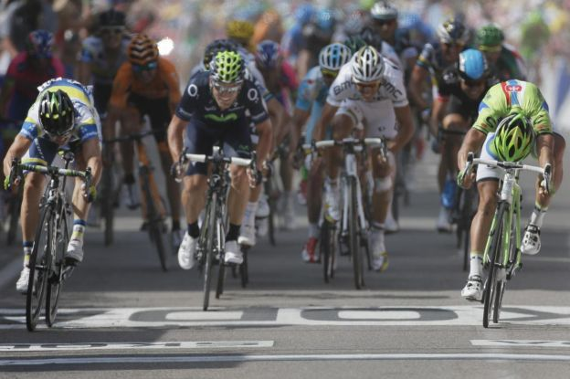Ciclismo, Tour de France Terza tappa