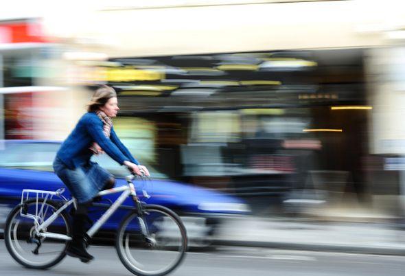 bici in citta