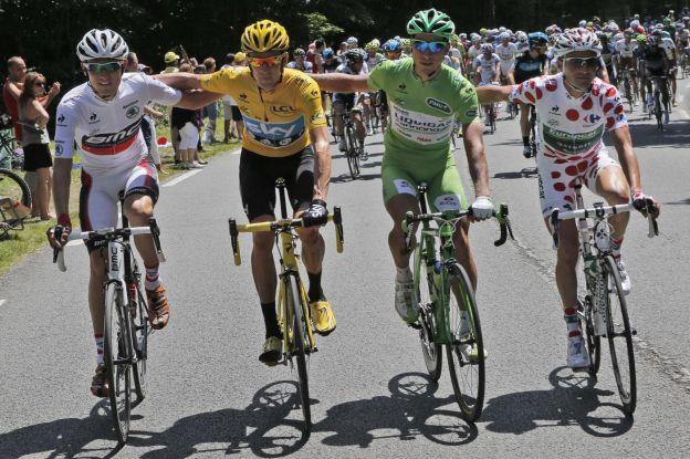 Bradley Wiggins vincitore del Tour de France 2012
