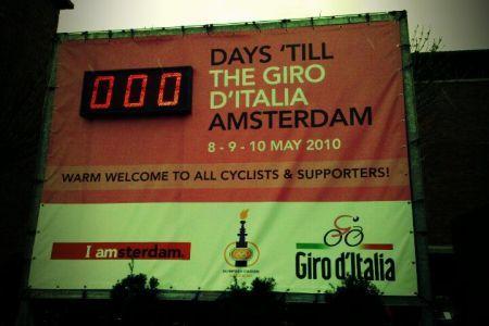 Giro d'Italia 2010 Crono Amsterdam