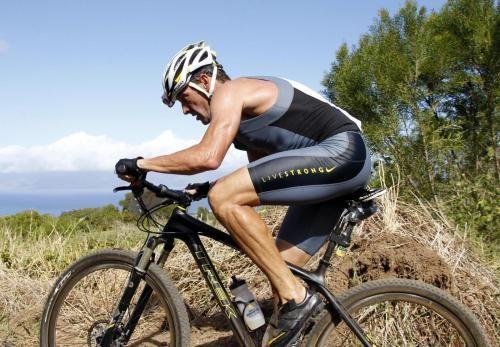 lance armstrong triathlon