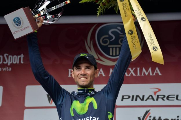 Roma Maxima 2014: vince Alejandro Valverde