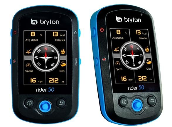 Ciclocomputer Bryton Rider 50 con cardiofrequenzimetro