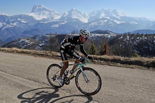 Domenico Pozzovivo vince il Giro del Trentino 2012