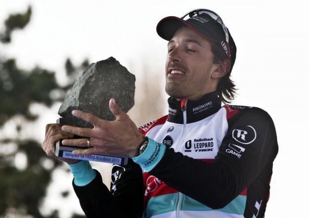 Fabian Cancellara tris mostruoso alla Parigi Roubaix 2013