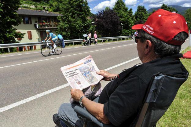 Giro 2013: cataloghi di pance, polpacci e dormienti