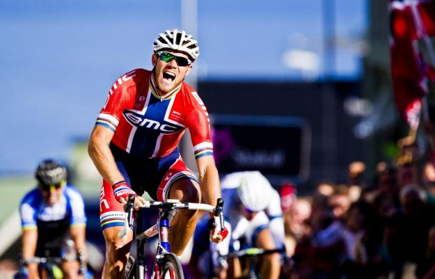 Thor Hushovd profeta in patria all'Arctic Race 2013