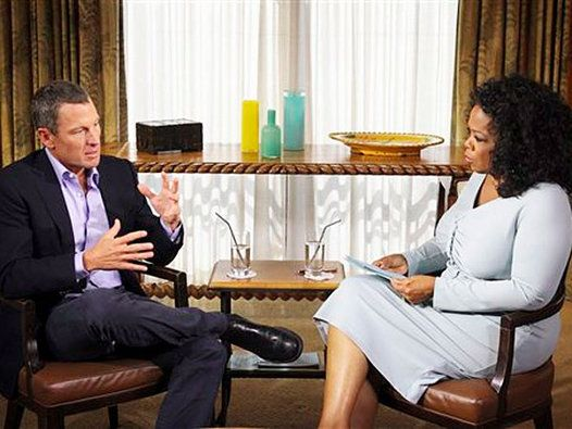 Lance Armstrong Oprah Winfrey intervista