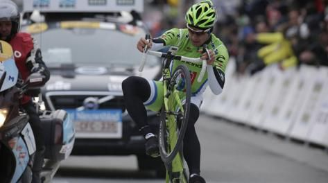 Peter Sagan impennata