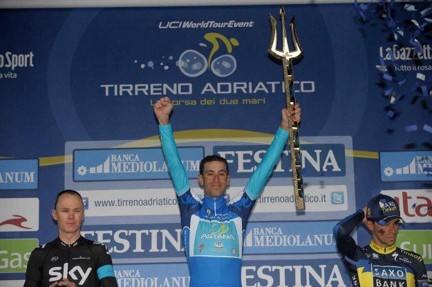 Gara ciclistica Tirreno Adriaticoseconda tappa