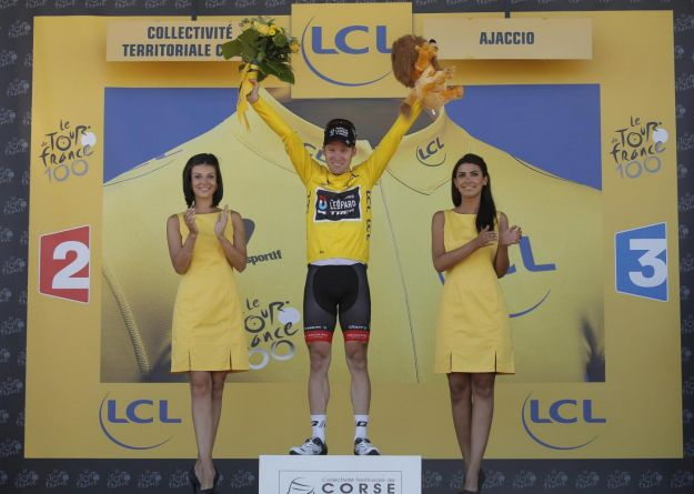 Tour 2013: seconda tappa a Jan Bakelandts, Froome scatta