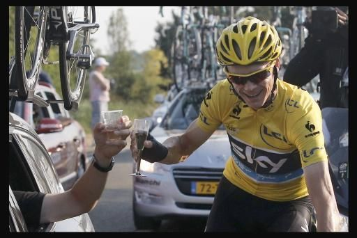 Tour of Oman 2014 a Chris Froome