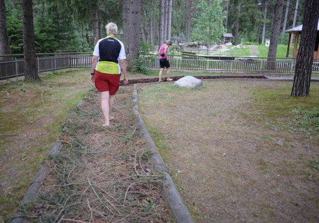 Uta e Elena percorso Kneipp