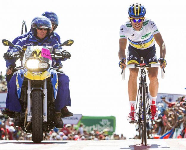 Alberto Contador leggendario: tappa e maglia alla Vuelta 2012 fuggendo in pianura