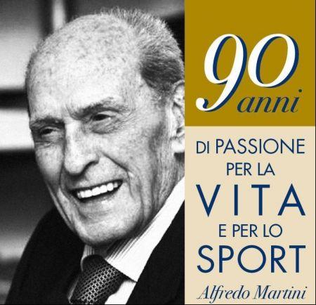 Alfredo Martini compie 90 anni, auguri!