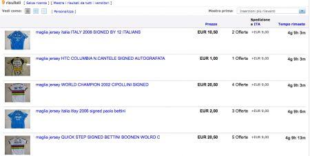 aste ebay italia ciclismo