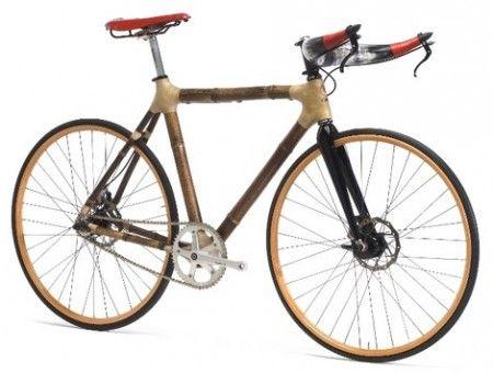 Bamboo-Bike: la bicicletta con telaio leggerissimo