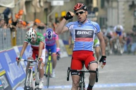 Evans in Tirreno