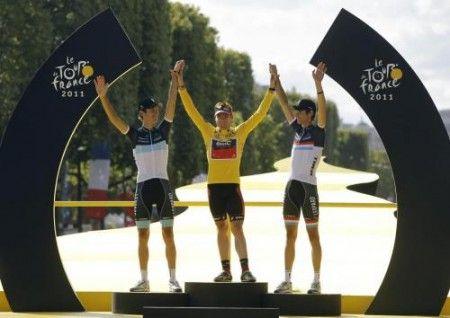 Cadel Evans vince il Tour de France 2011