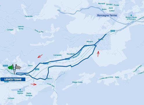 campionati italiani ciclismo 2012 percorso