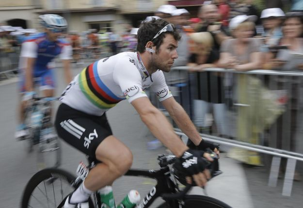 Mark Cavendish: volata per distacco al Tour 2012