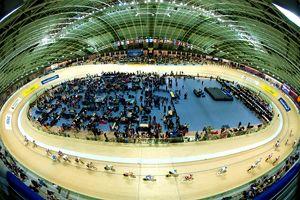 ciclismo su pista velodromo