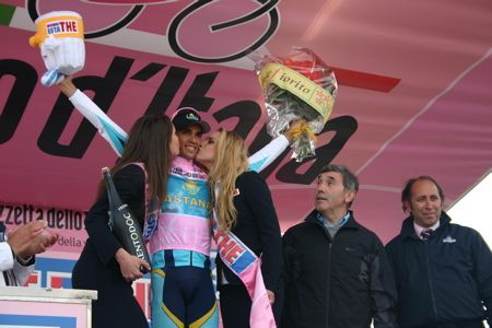 Alberto Contador e Eddy Merckx