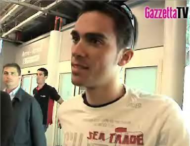 Alberto Contador è pronto per il Giro 2008
