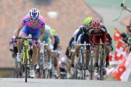 Un grande Damiano Cunego al Giro della Svizzera 2011