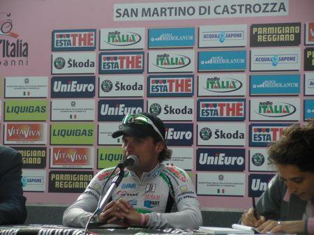 Danilo Di Luca San Martino di Castrozza
