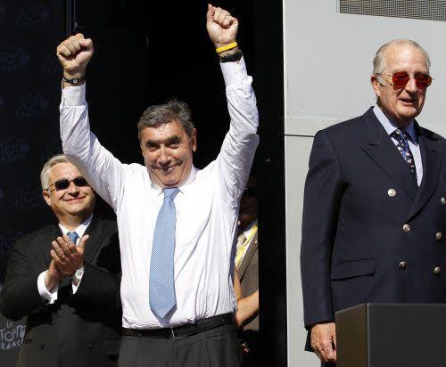 Eddy Merckx promuove Vincenzo Nibali: presente e futuro per l'Italia