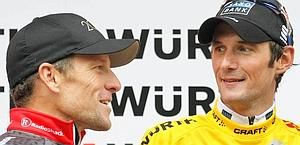 Giro della Svizzera 2010 a Frank Schleck su Armstrong