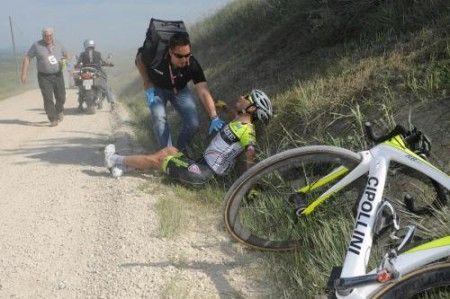 Giro 2011: lo spettacolo del pericolo