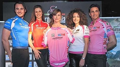 Presentazione maglie del Giro d'Italia