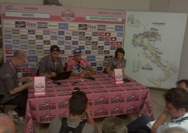 Il Giro d'Italia delle emozioni pure e della mamma