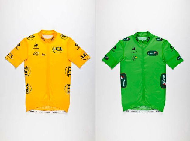 Le magliette da ciclismo Coq Sportif per il Tour de France 2012