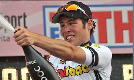 Giro 2009: Team Columbia vince il prologo, Cavendish in rosa