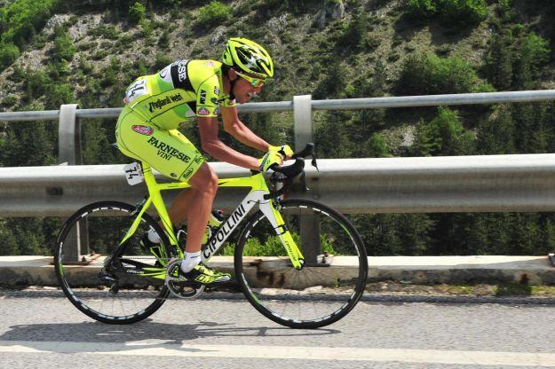 Matteo Rabottini eroico, 150 km di fuga al Giro d'Italia 2012