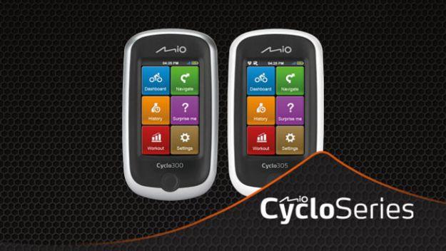 Navigatori GPS per la bici Mio Cyclo 300 e 305: l'hitech pratico