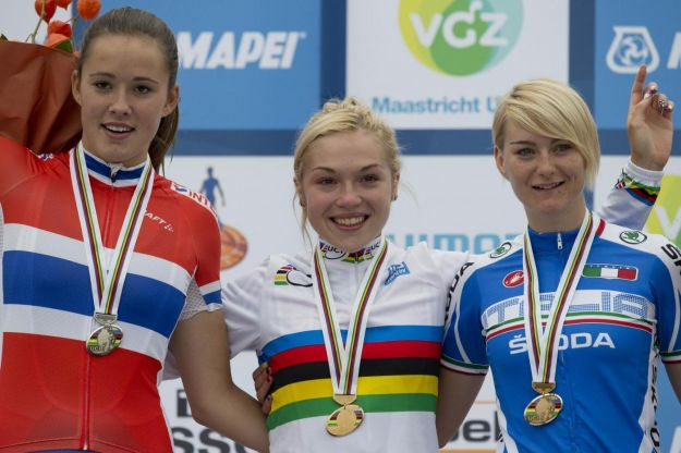 Mondiali Ciclismo 2012: prima medaglia con Anna Maria Zita Stricker