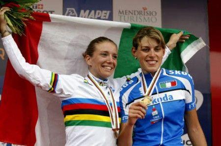 Noemi Cantele campionessa italiana 2011, battuta Tatiana Guderzo