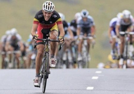 Philippe Gilbert vince anche all'Eneco Tour 2011