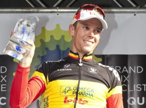 Philippe Gilbert vince il Velo d'Or 2011