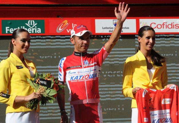 Vuelta 2012: Purito Rodriguez anticipa tutti in maglia rossa