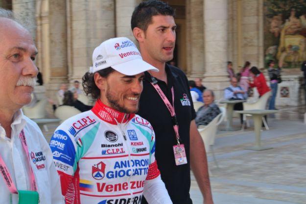 Roberto Ferrari, primo sprint italiano al Giro 2012