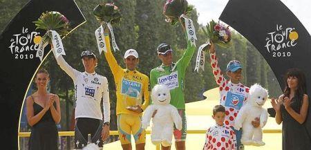 Alberto Contador vince il Tour de France 2010: è tris, ma che fatica!