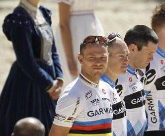 La cronosquadre del Tour 2011 premia la Garmin e Hushovd