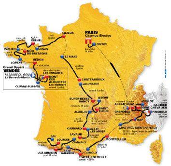 Tour de France 2011: i partecipanti, tutti i ciclisti iscritti con le squadre