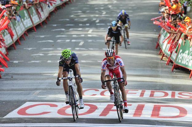 Vuelta 2012: spettacolo in salita, Valverde tappa e maglia